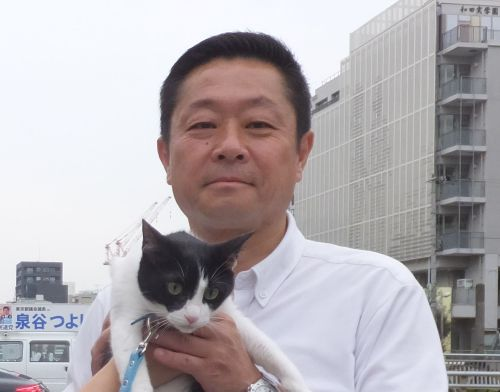 豊島区議会議員 藤本 欣士(ふじもと きんじ)先生 500