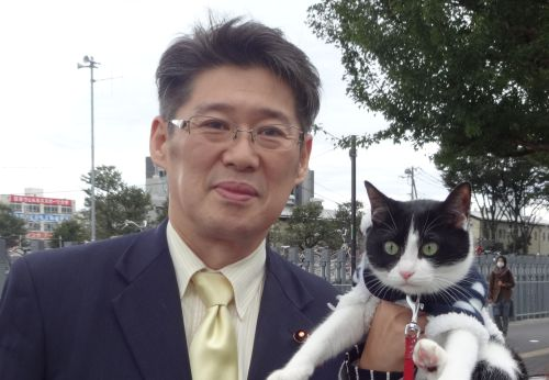 中野区議会議員 長沢和彦先生 500