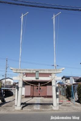 香取神社(越谷市平方)1