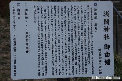 浅間神社(越谷市平方)6