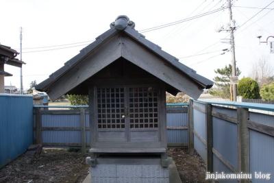 稲荷社(春日部市赤沼)3