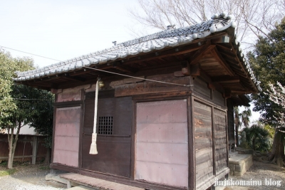 稲荷神社(春日部市赤崎)5