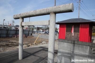 稲荷神社(春日部市永沼)2