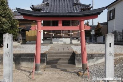 雷電神社(春日部市下柳)2