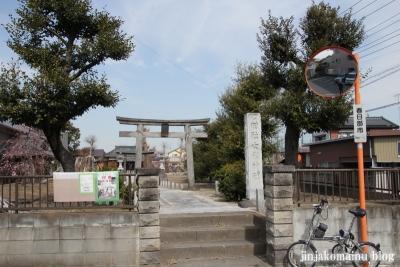 女体神社(春日部市牛島)1