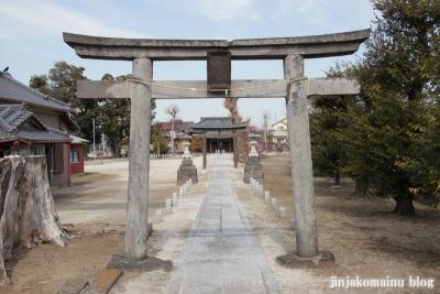 女体神社(春日部市牛島)4