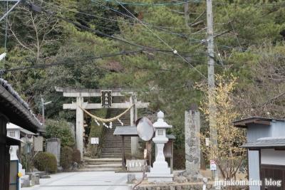 飛鳥座神社(高市郡明日香村飛鳥707番地2)