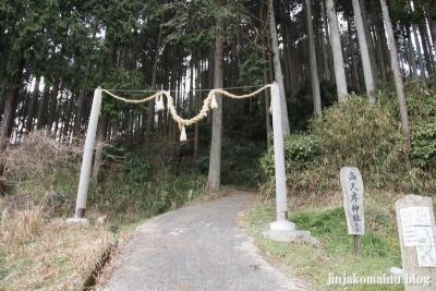 高天彦神社(御所市北窪)1