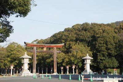 樫原神宮(橿原市久米町)1