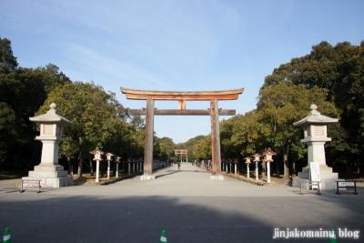 樫原神宮(橿原市久米町)3