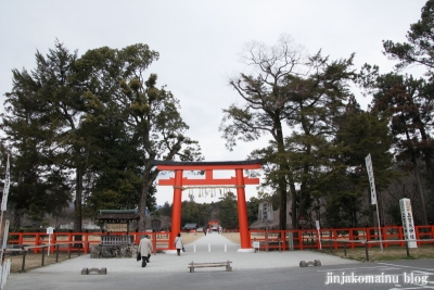 上賀茂神社(京都市北区上賀茂本山)2
