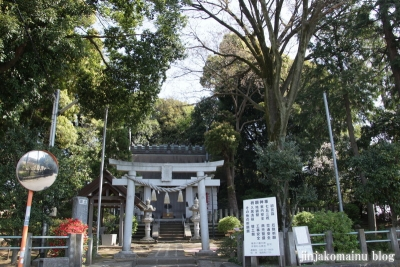 杉山神社(横浜市港北区岸根町)1