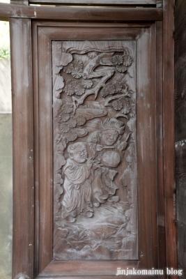 八杉神社(横浜市港北区大豆戸町)15