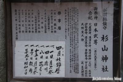 杉山神社(横浜市港北区新羽町)3