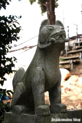 稲荷神社(横浜市港北区新吉田町)4