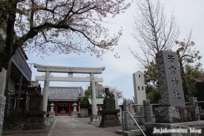若雷神社(横浜市港北区新吉田町)1