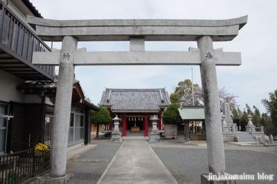 若雷神社(横浜市港北区新吉田町)3
