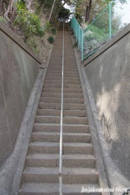新明神社(横浜市港北区綱島東)1