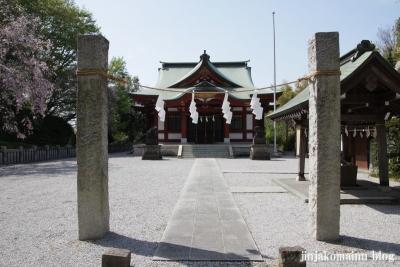 諏訪神社(横浜市港北区綱島東)1