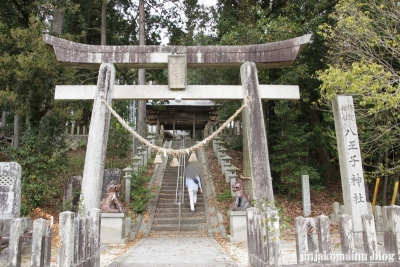 八王子神社(瑞浪市陶町大川)2
