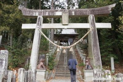 八王子神社(瑞浪市陶町大川)4