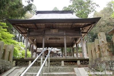八王子神社(瑞浪市陶町大川)15