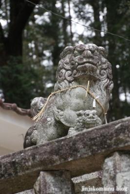 八王子神社(瑞浪市陶町大川)18