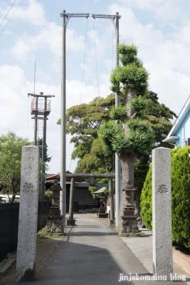 新明神社(横浜市神奈川区羽沢町)1