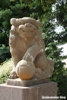 新明神社(横浜市神奈川区羽沢町)12