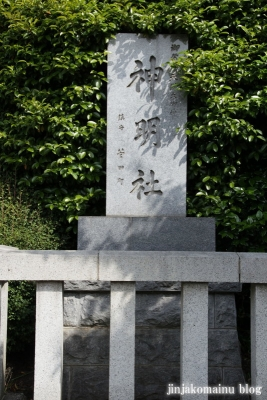 神明社(横浜市神奈川区菅田町)2