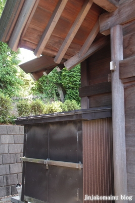 新明神社(横浜市神奈川区三枚町)12