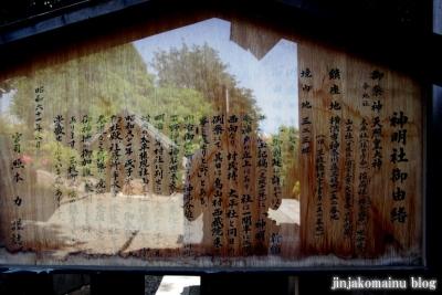 新明神社(横浜市神奈川区三枚町)10