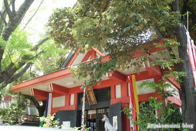 笠のぎ稲荷神社(横浜市神奈川区東神奈川)9