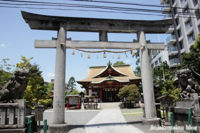 熊野神社(横浜市神奈川区東神奈川)1