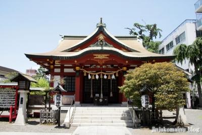 熊野神社(横浜市神奈川区東神奈川)4