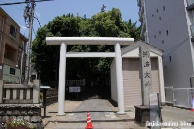 洲崎神社(横浜市神奈川区青木町)1