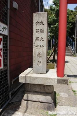 大綱金毘羅神社(横浜市神奈川区台町)2