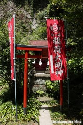 大綱金毘羅神社(横浜市神奈川区台町)9