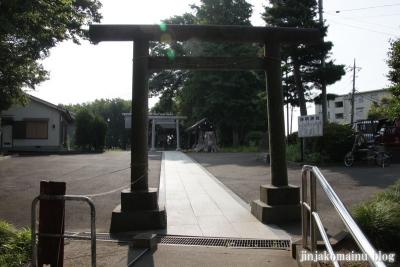 上作延新明神社(川崎市高津区向ヶ丘)1