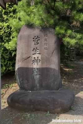 菅生神社(川崎市宮前区菅生)2