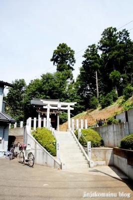 八雲神社(川崎市宮前区菅生)1