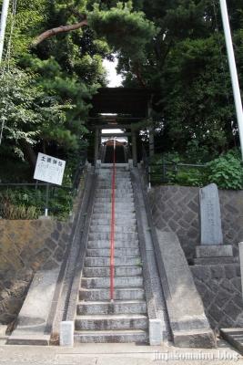 土橋神社(川崎市宮前区土橋)1