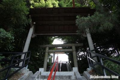 土橋神社(川崎市宮前区土橋)2