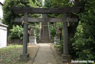 神明社(川崎市宮前区有馬)1