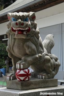 馬絹神社(川崎市宮前区馬絹)7
