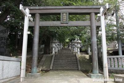 馬絹神社(川崎市宮前区馬絹)4