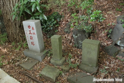 馬絹神社(川崎市宮前区馬絹)20
