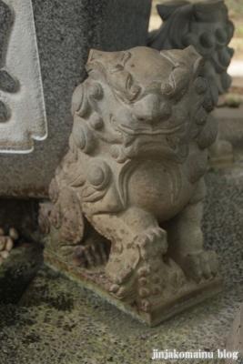 野川神明社(川崎市宮前区野川)7