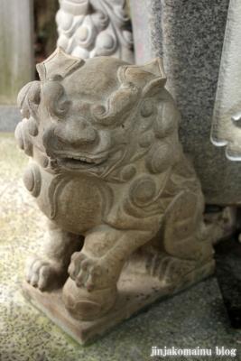野川神明社(川崎市宮前区野川)8