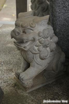 野川神明社(川崎市宮前区野川)10